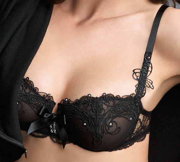 Lise Charmel Soir De Venise Demi Bra with Vertical Seams