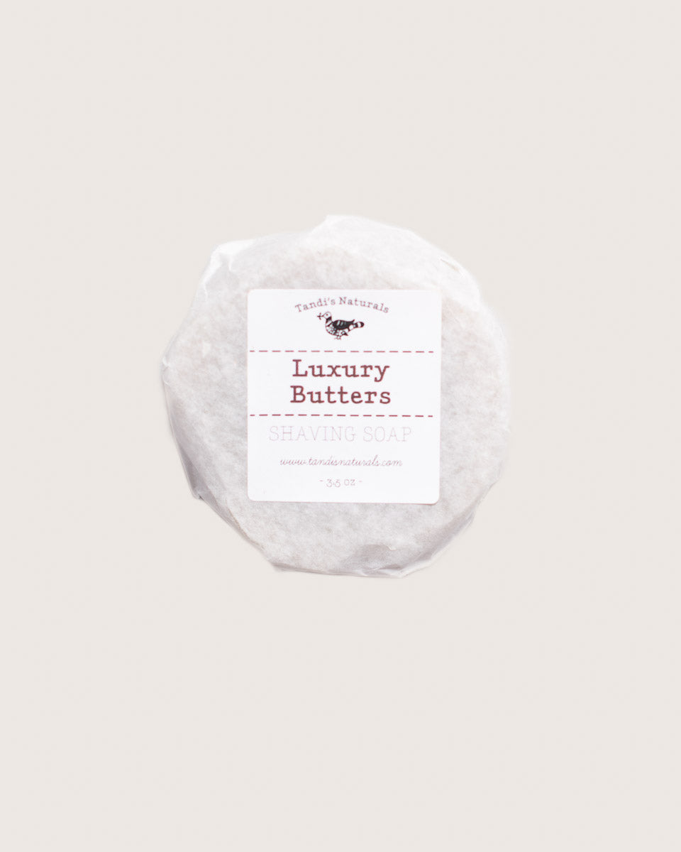 Tandi's Naturals Luxury Butters Shaving Soap Bar