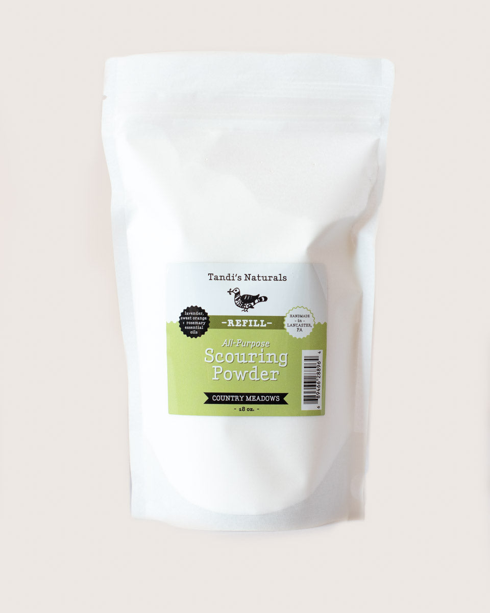 Tandi's Naturals Scouring Powder Refill Country Meadows