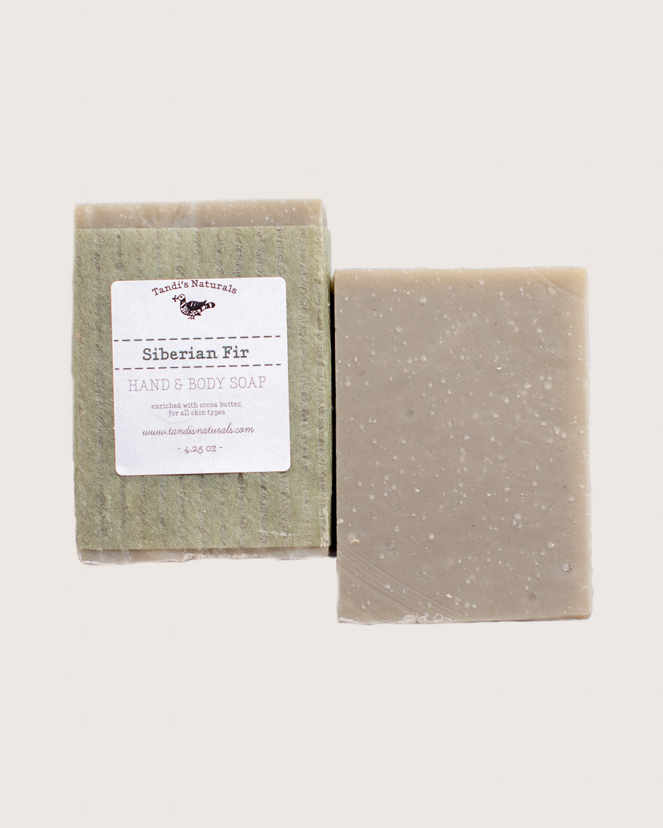 Tandi's Naturals Siberian Fir Bar Soap