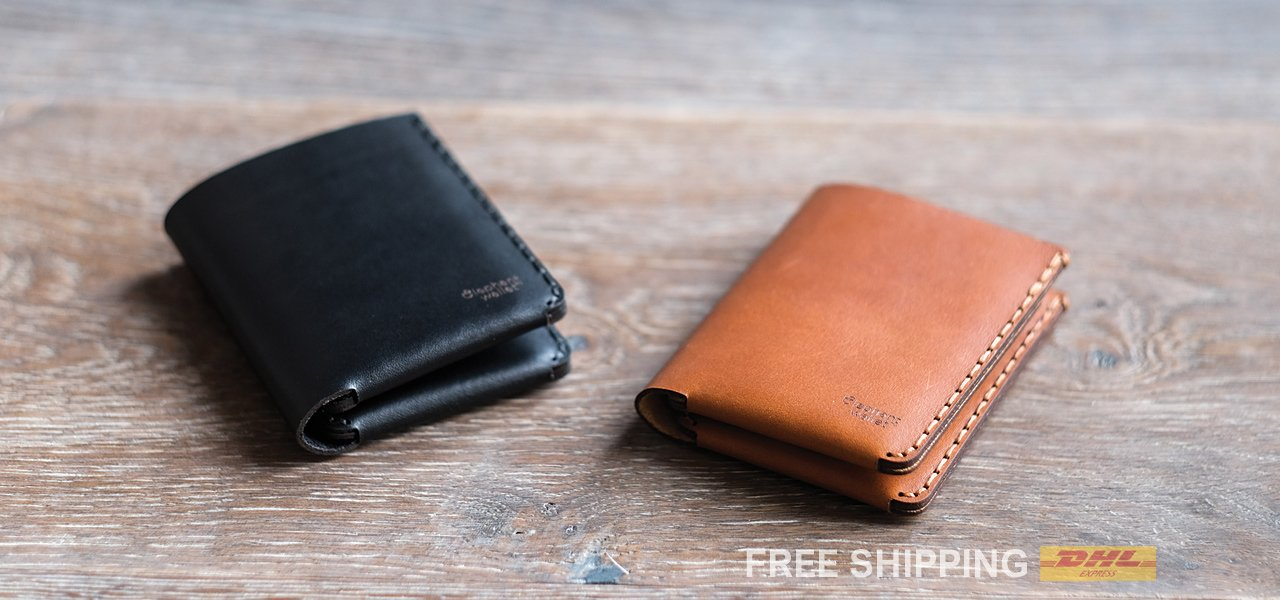 Minimalist Leather wallets