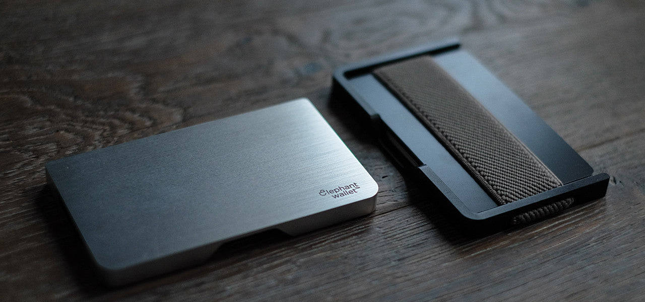 N3D Wallet Aluminium silver and black