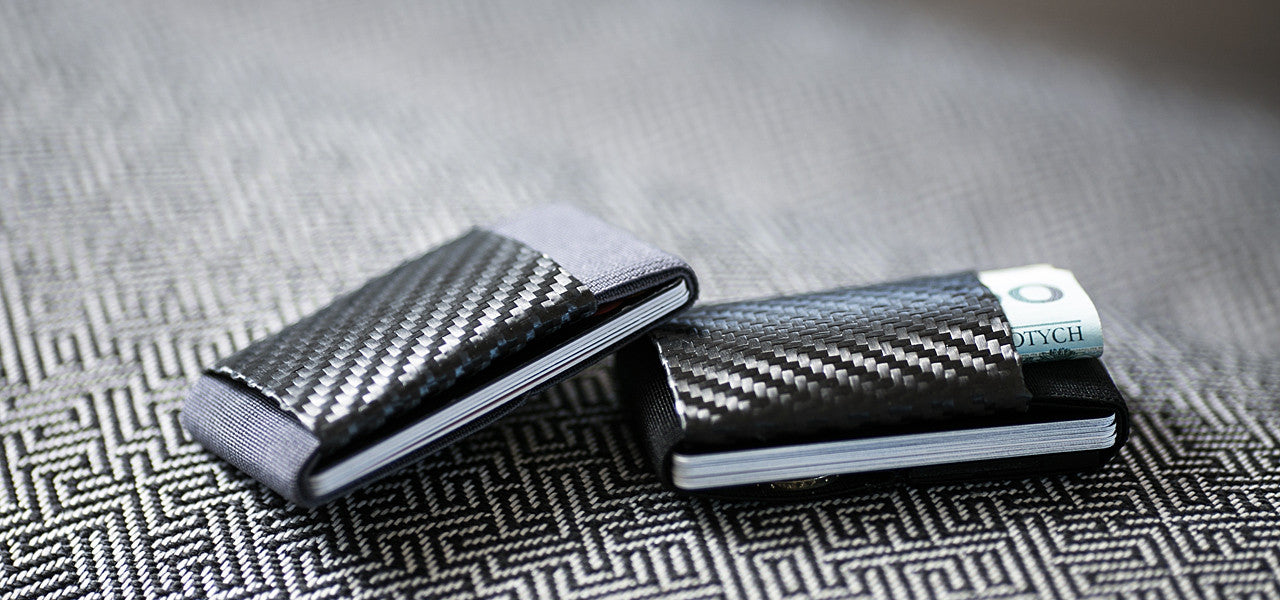 LR Soft Carbon Fiber Wallet