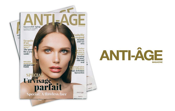 Dermastir Luxury in Anti-Age Magazine n°33