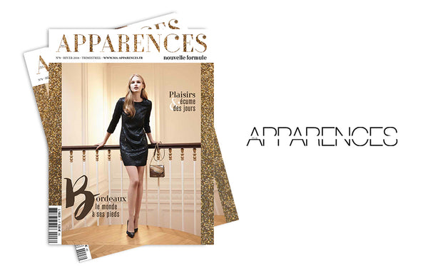 Dermastir in Apparences Magazine France