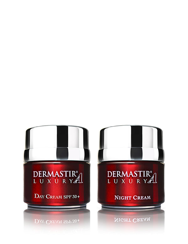 Dermastir Duo Pack – Day Cream SPF30+ Tinted & Night Cream