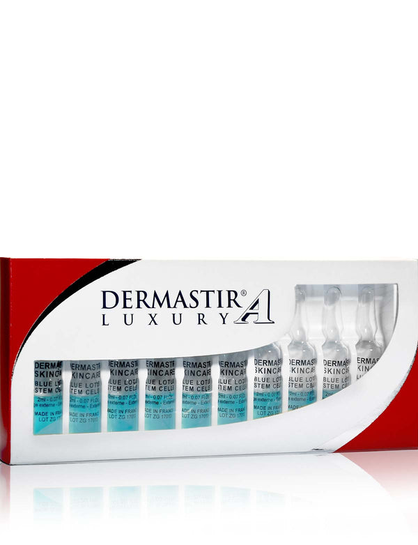 Dermastir Ampoules Blue Lotus Stem Cells