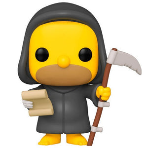 Funko Pop! Television Los Simpson Grim Reaper Homer (Treehouse of Horror)