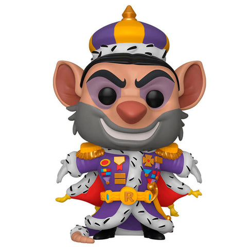 Funko Pop! Disney Basil, el ratón superdetective Ratigan