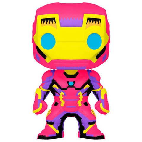 Funko Pop! Marvel Black Light Iron Man (Special Edition)