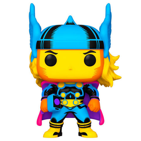 Funko Pop! Marvel Black Light Thor (Special Edition)