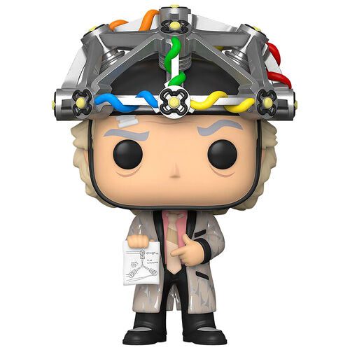 Funko Pop! Movies Regreso al Futuro Doc with helmet