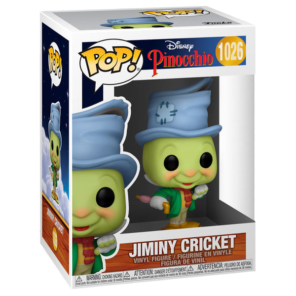 Funko Pop! Disney Pinocho Jiminy Cricket