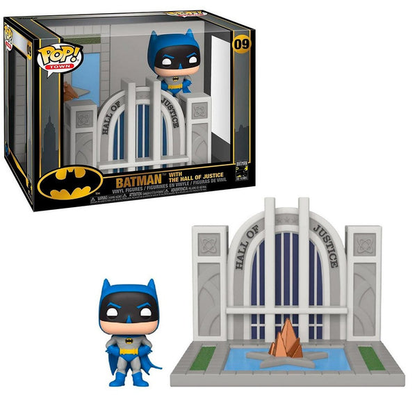 Funko Pop! Town DC Batman with The Hall of Justice