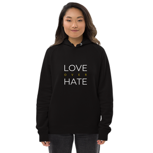 love over hate hoodie - genu prima