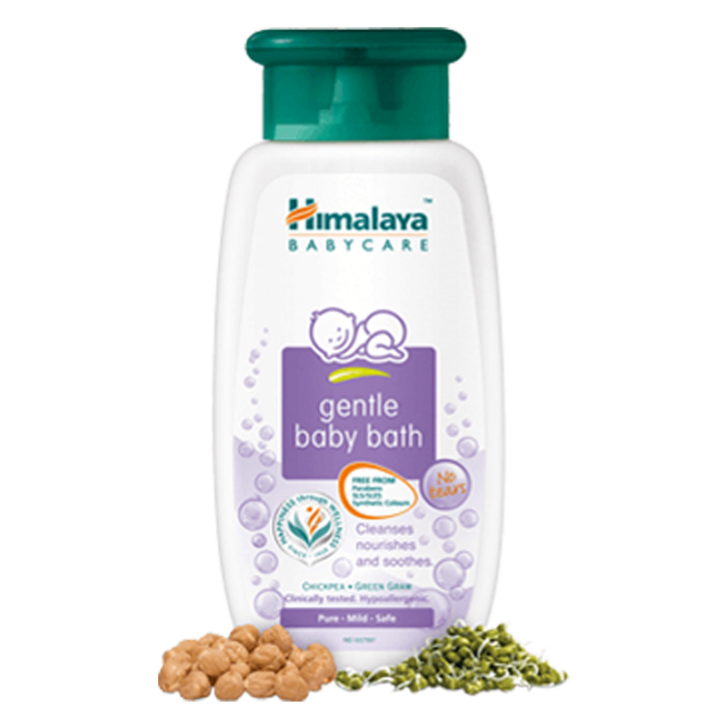 Himalaya Gentle Baby Bath - Cleanses & Soothes Baby's Skin