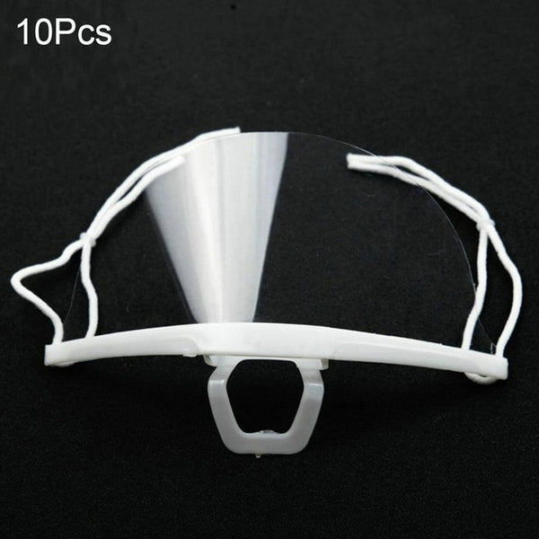 10Pcs Hygiene Safety Face Shield