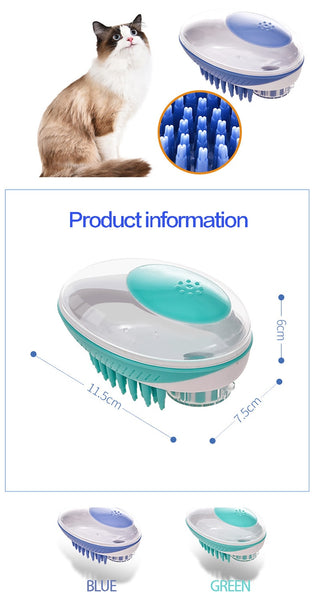 2-in-1  Dog Bath Brush