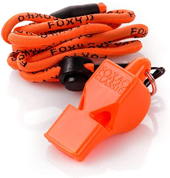 CLASSIC Whistle and Wrist Lanyard