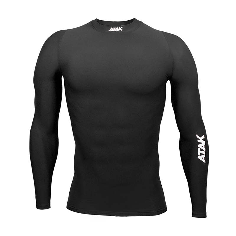 Unisex Compression Top Black