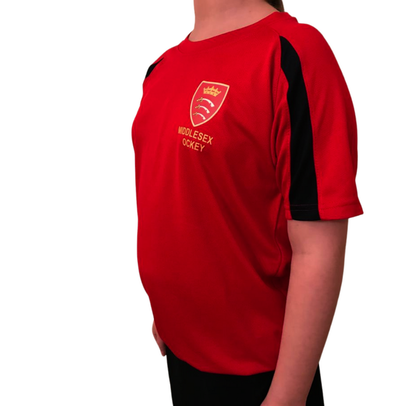 MHCA Kids Training Shirts - Red