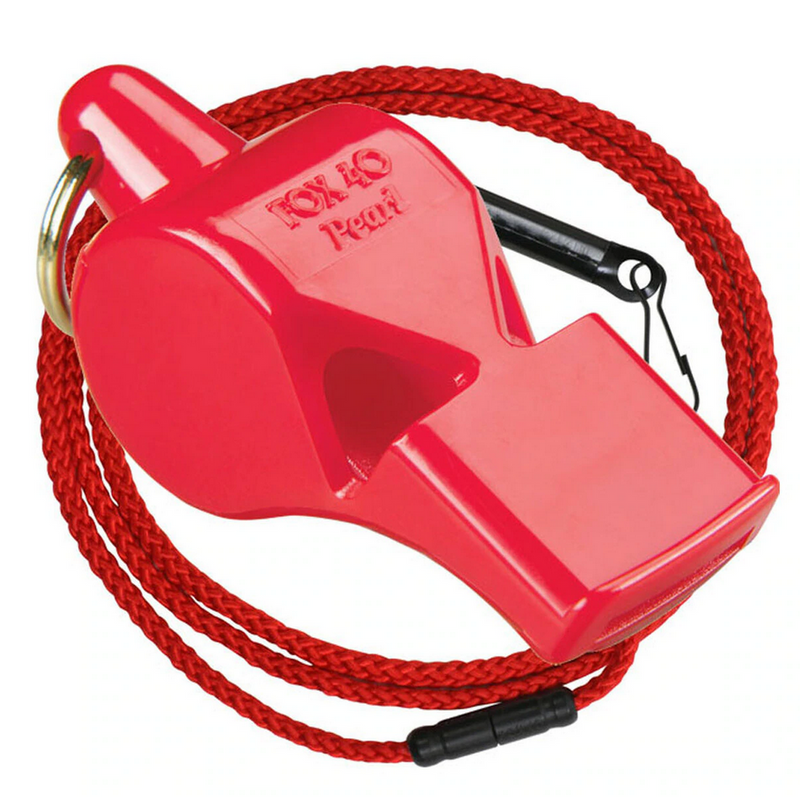 Fox40 Pearl Whistle With Wrist Lanyard