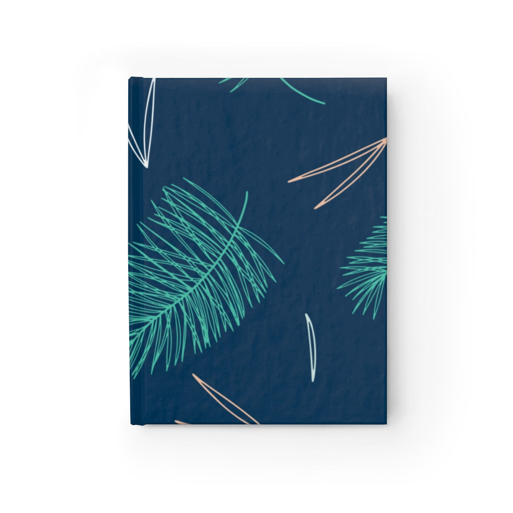 Blue Feather Journal - Ruled