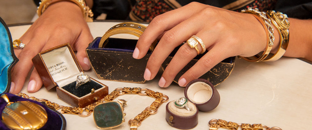 Estate and antique jewelry