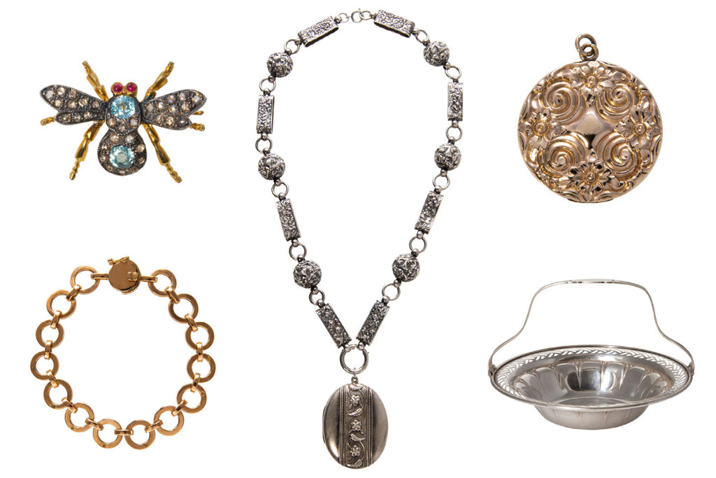 Estate and antique jewelry and gifts for the antiquarian