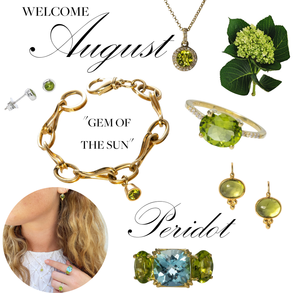 Welcome August Peridot The Gem of the Sun