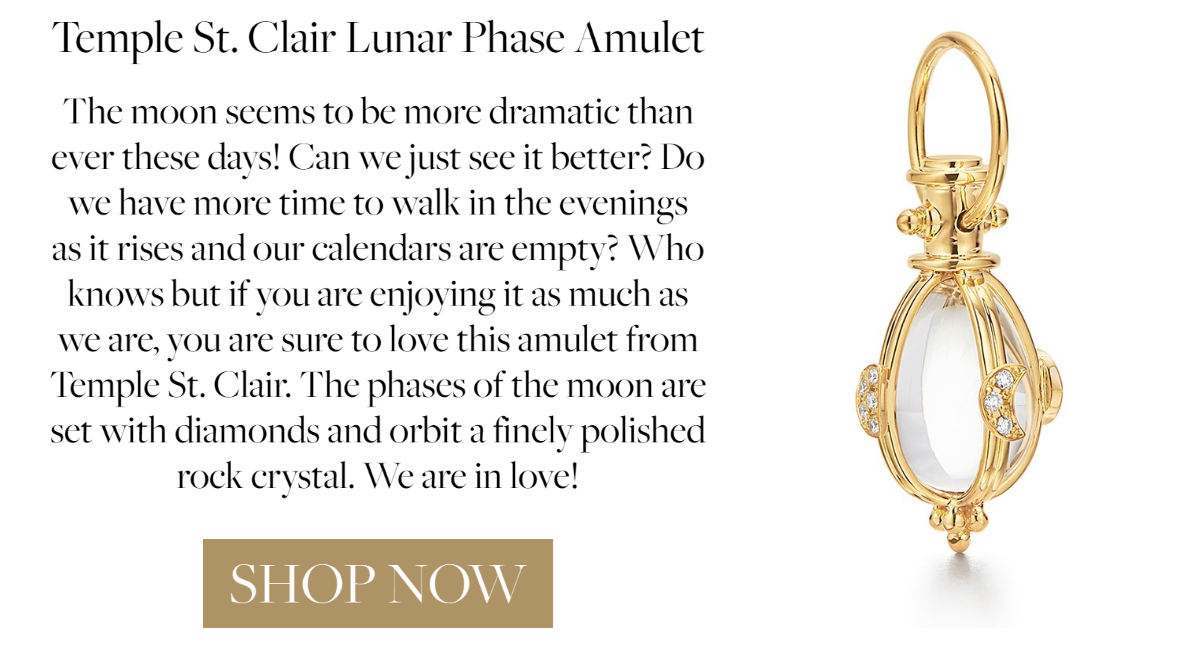 Temple St. Clair Small Lunar Phases Amulet