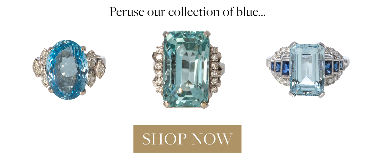 Peruse our collection of blue… SHOP NOW