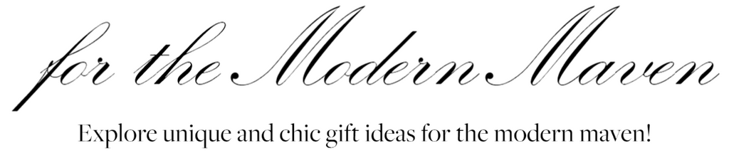 Explore unique and chic gift ideas for the modern maven!