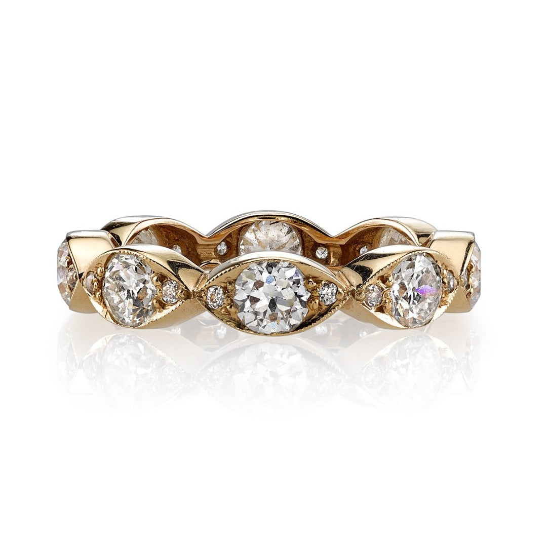 Single Stone Kelly Eternity Band
