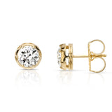 Single Stone Maude Stud Earrings