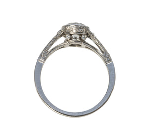 Single Stone Corinne Ring
