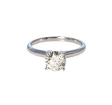1.29ct Diamond Solitaire 14K Gold Engagement Ring