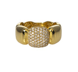 Diamond Pave & 14K Yellow Gold Ring