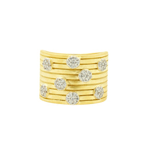 Freida Rothman Fleur Bloom Empire Wide Band