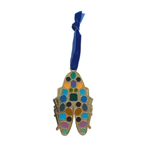Goldbug Christmas 2020 Enamel Gem-Bug Ornament