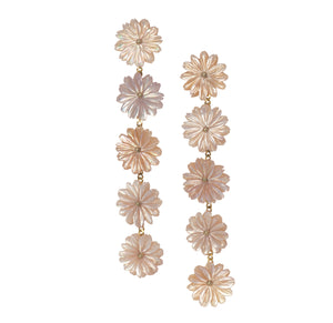 Church Street Multi-Flower Drop Earrings
