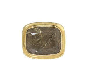 Dudley VanDyke The Crutchfield Fob with Rutilated Quartz