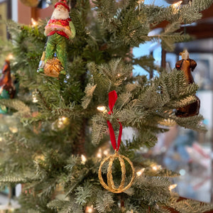 Goldbug Christmas 2019 Wingwoman Ornament