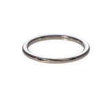 14K White Gold 1.5mm Wedding Band
