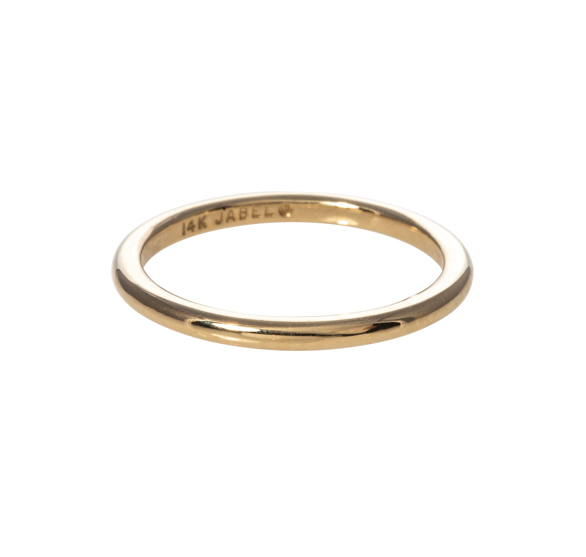14K Yellow Gold 1.5mm Wedding Band