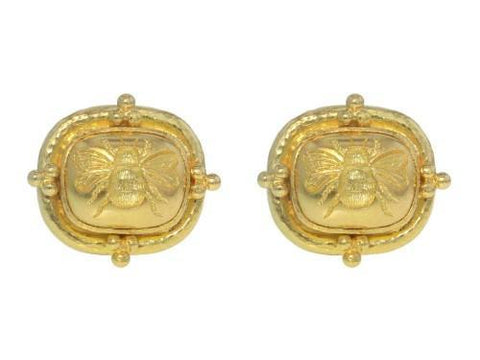 Elizabeth Locke Fat Bee Earrings