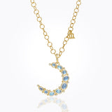 Temple St. Clair Large Crescent Moon Pendant