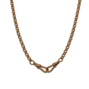 Dudley VanDyke 14K Yellow Gold Rolo Chain
