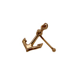 Estate 14K Gold Anchor Charm