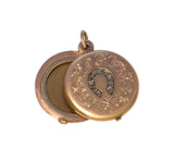 Victorian Diamond Horseshoe Locket